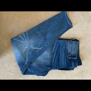J.Crew skinny jean 8' inch rise; size 31